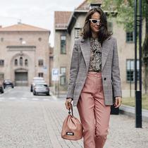 奥斯陆时装周街头风尚亮点-时尚街拍