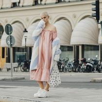 斯德哥尔摩时装周的街头时尚灵感-时尚街拍