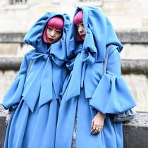 2019巴黎春夏時裝周街拍DAY7-時尚街拍