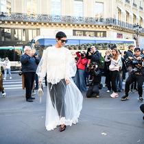 2019巴黎春夏時裝周街拍DAY8-時尚街拍