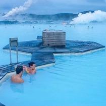 冬季冰火兩重天 去世界的邊緣冰島藍湖泡溫泉 -旅行度假