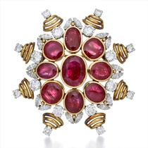 """传世之作 经典重现——蒂芙尼呈现 """"斑斓之境""""古董臻品展 The Extraordinary Colors of Tiffany-欲望珠宝"""