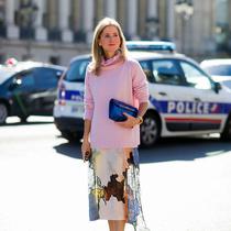 藏不住的少女心 冬天更能駕馭粉色系-時尚街拍