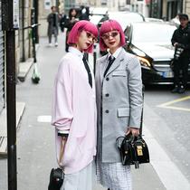 2019秋冬巴黎时装周最佳街拍第八日-时尚街拍