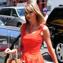 你的衣橱永远少一条红裙-风格示范