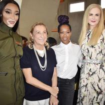 #SuzyMFW: Prada's Touch Of Gold-Suzy Menkes专栏