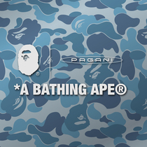 A BATHING APE? x PAGANI 聯名限定系列服飾矚目釋出,全新聯名超級跑車奢華亮相-品牌新聞