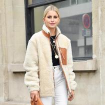 冬天就选这款短外套,又暖还时髦-时尚街拍