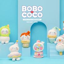 POP MART 泡泡瑪特首推毛絨盲盒 BOBO&COCO甜品系列邀你共度午后時光-生活資訊