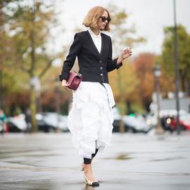 必修时髦课 60秒看完30种裙+裤搭配法
