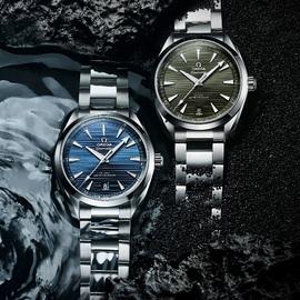 歐米茄海馬系列Aqua Terra至臻天文臺表雙色煥新