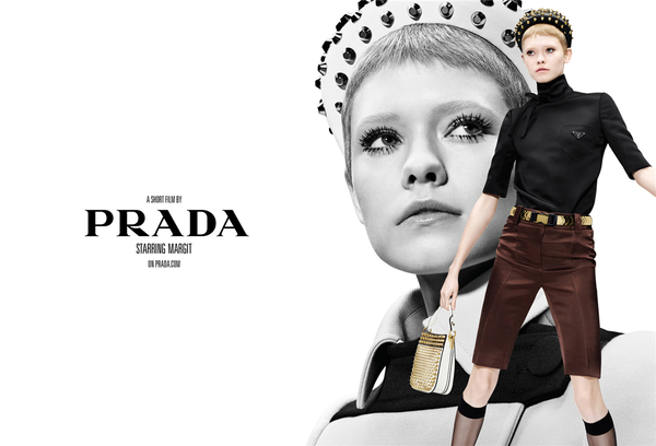 PRADA 2019春夏女装和男装广告大片 双重曝光