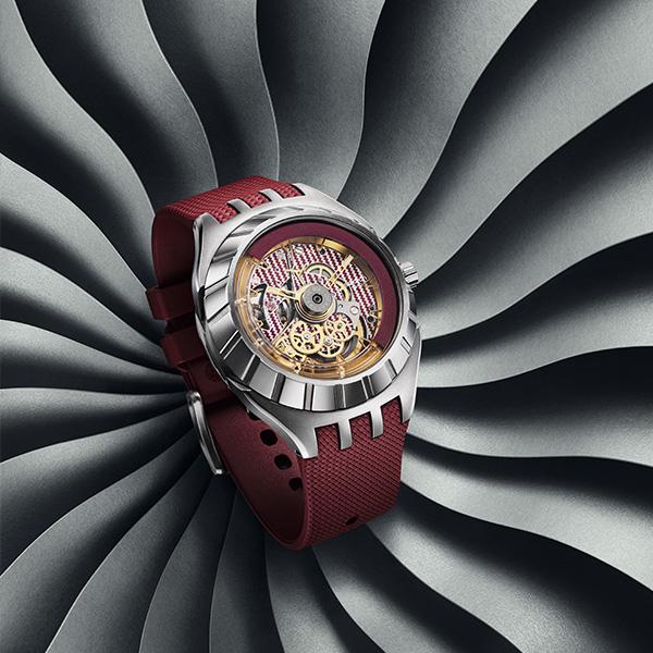 北京SKP即将独家呈现 斯沃琪FLYMAGIC系列限量款腕表