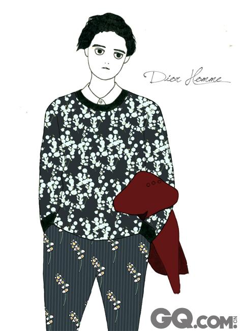 毛衣不讲究什么功能性,这里没必要将一件普通的毛衣编出更多的花样和理由让你去信服什么,只要自己喜欢就可以入手。