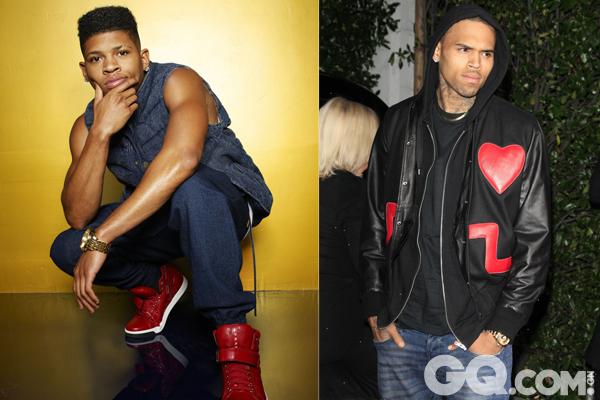 沉迷派对的小儿子Hakeem则贴合坏小子Chris Brown的形象。
