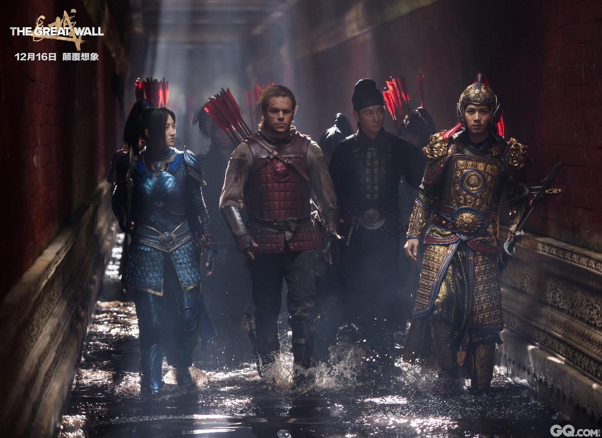 由张艺谋执导的贺岁饕餮巨制《长城》将于12月16日全国公映,影片由中国电影股份有限公司、乐视影业、传奇影业、环球影业联合出品