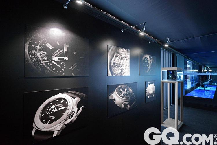 此次展览亦提供独特机会,让来宾亲自欣赏由品牌于诺沙泰尔制表厂研发的多款腕表杰作,体会沛纳海结合纯正 意大利设计及瑞士制表技术的超卓造诣。沛纳海腕表自1936年至今所研发的表壳命名分门别类,包括1936 年诞生的首枚Radiomir 腕表,以至一系列Radiomir 1940、Luminor 1950 及Luminor 腕表。参观者可透过展品探索沛纳海腕表系列,了解个中精湛功能,包括长动力储存功能、高级钟表复杂功能、计时功能及GMT 两地时间 显示。
