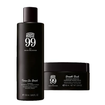 HOUSE 99随性塑发套装(活力净透洗发水+塑型发蜡)