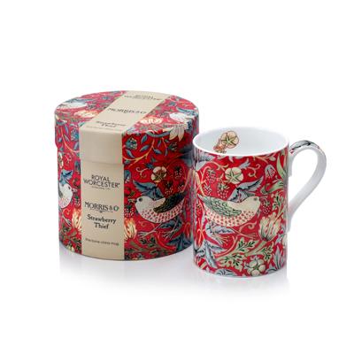 MORRIS&Co.英国骨瓷马克杯(红色)