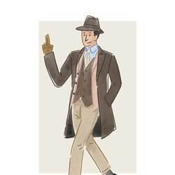 每日穿搭|用衣服叠叠叠叠出来的绅士感