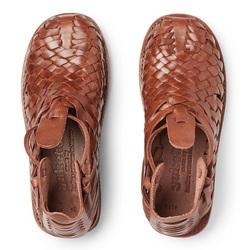 春季搭配怎能缺少一双个性编织凉鞋