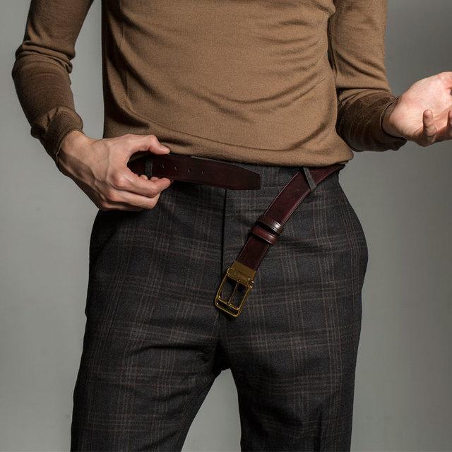 男人在什么时候要系腰带其实是一个大问题!