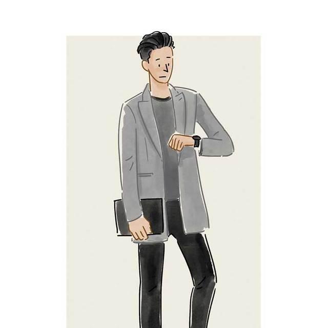 每日穿搭|手拿包怎么彰显从容不迫的绅士气质