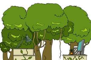 写字楼森林探险指南:如何识别办公室猎手