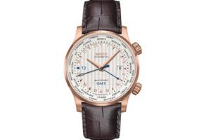 美度表舵手系列世界时腕表