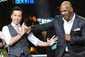 泰森加盟《叶问3》与甄子丹对打