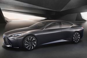 科技与奢华——LEXUS雷克萨斯旗舰概念车LF-FC全球首发
