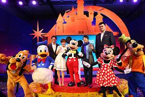 孙俪、郎朗、姚明成为上海迪士尼度假区荣誉大使