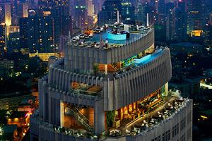 能360度看曼谷夜景的酒吧