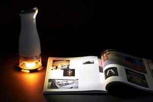 绝对省电!蜡烛供能的LED灯