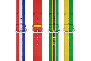奥运是个好生意 苹果推出国旗表带