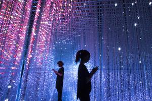 来新加坡滨海湾艺术科学博物馆看看