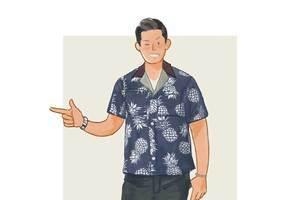 每日穿搭|能穿上街的沙滩衬衣