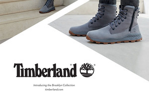 让世界跟上你的脚步  Timberland BROOKLYN BOOT 纽约酷靴系列