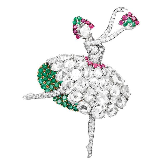 """当珠宝遇到芭蕾舞 梵克雅宝""""致爱芭蕾"""""""