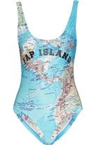 Bermudes 印花泳衣