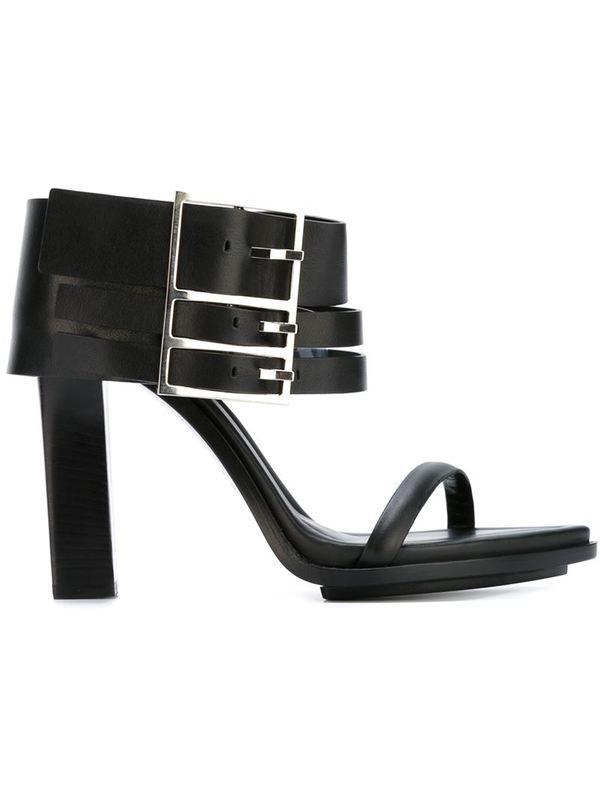 VERSUS buckle sandals